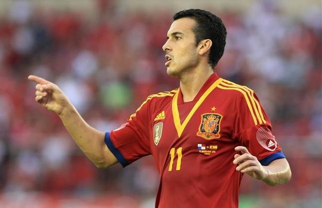 Pedro, o un extra�o caso con el gol
