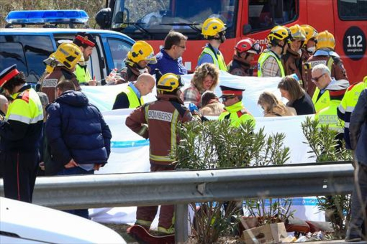 El conductor del autob�s del accidente de Tarragona, en estado cr�tico