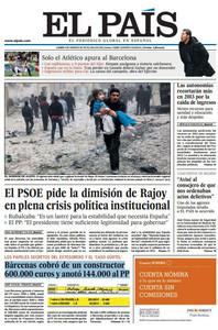 'La Gaceta' apunta su portada contra Rajoy y desvela que el dinero de Gürtel también le pagó viajes privados