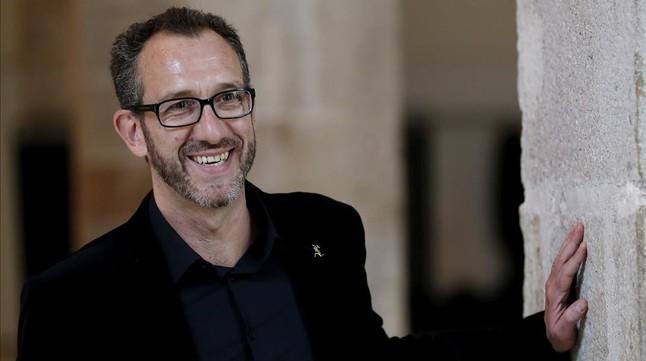 Ricardo Men�ndez Salm�n, en la presentaci�n del Premio Biblioteca Breve 2016