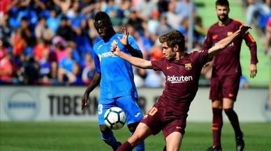 El Getafe-Barça de la Lliga Santander, en directe 'on line'