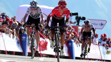 Froome ho aguanta tot a l'Aubisque