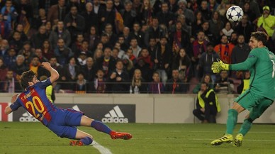 Las imágenes de la remontada del Barça