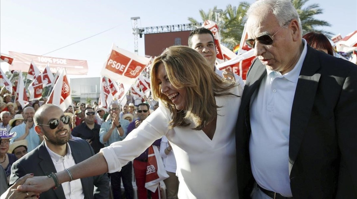 Susana Díaz apela a la unidad del PSOE para enfrentar a Podemos