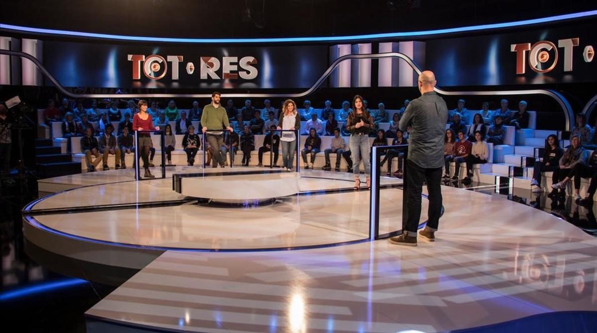 TV-3 fulmina el concurso 'Tot o res'