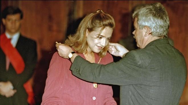 Barcelona atorgarà la Medalla d'Or a Muriel Casals