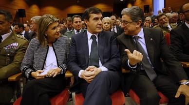 Cap líder parlamentari assisteix a l'acte per la Constitució a Barcelona