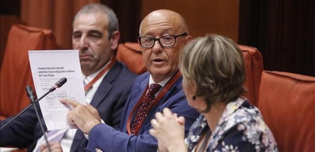 El excomisario Marcelino Martín-Blas niega que exista la 'operacion Cataluña'