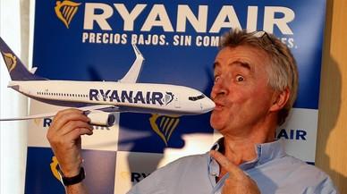 Ryanair amplia les cancel·lacions de vols fins al març del 2018