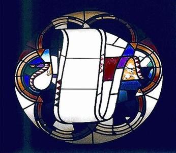 Vidriera de la Sagrada Família. ARCHIVO