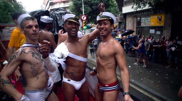 Gay Pride Rally and Parade Austin Texas