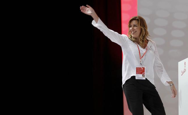 La presidenta andaluza Susana Díaz en un acto el año pasado.