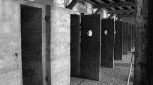 Imagen del único campo de concentracion nazi que hubo en Italia, el de San Sabba, que aparece en la novela documental Trieste de Dasa Drndic.