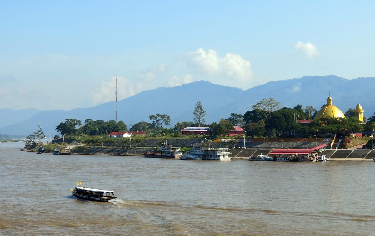 El río Mekong, a su paso por Tailandia.