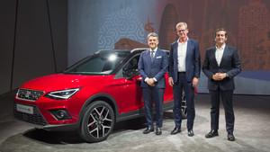 El nuevo Seat Arona se comercializará en el último trimestre de 2017