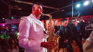Concierto de la Banda 24 de mayo en la Daniels Exclusive Discoteck, en Granollers.