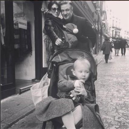 Alec Baldwin i la seva família, de vacances a Espanya