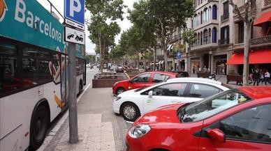 Más de la mitad de la Barcelona metropolitana, abierta a compartir coche