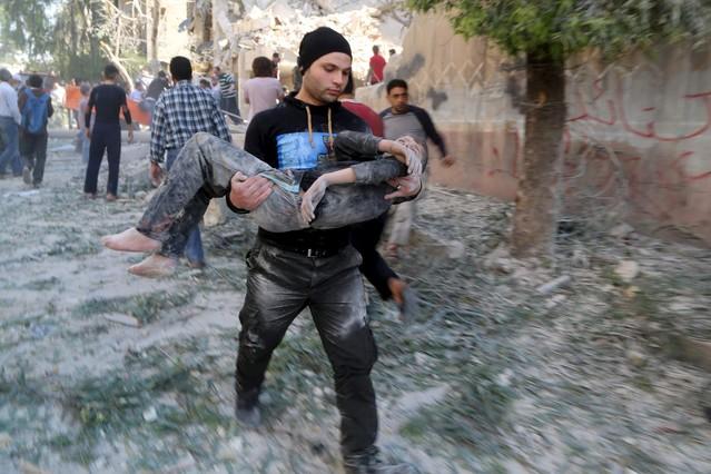 Resultado de imagen para alepo y las atrocidades