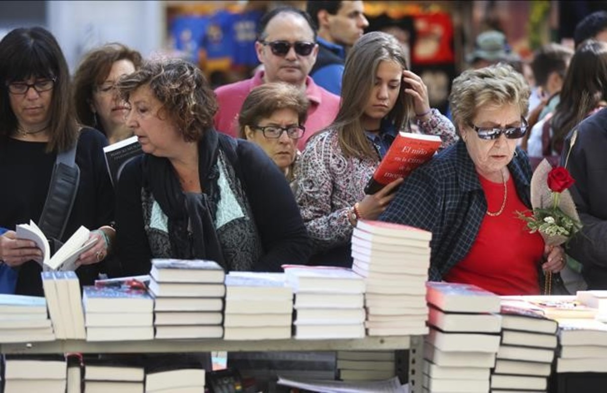 Sant Jordi tendrá dos días de descuentos en las librerías