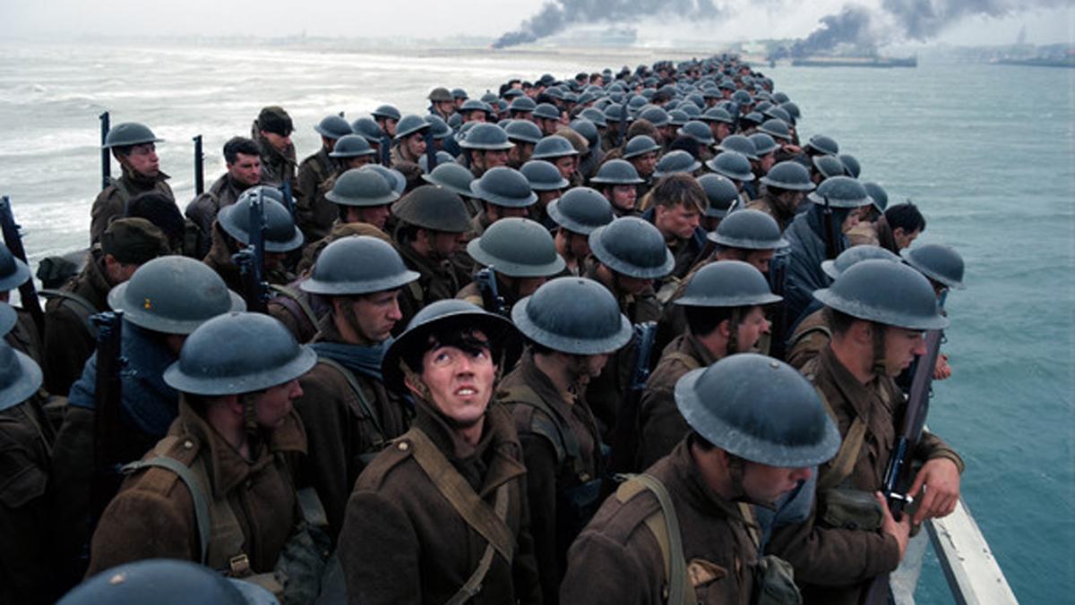 Tráiler de 'Dunkerque' (2017), la última película sobre la II GMdesde el punto de vista de los soldados en el frente de batalla.