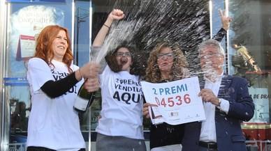 Catalunya solo recupera el 13% de lo invertido en la Lotería de Navidad