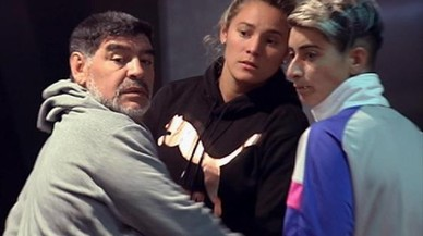 Maradona, la mano del diablo