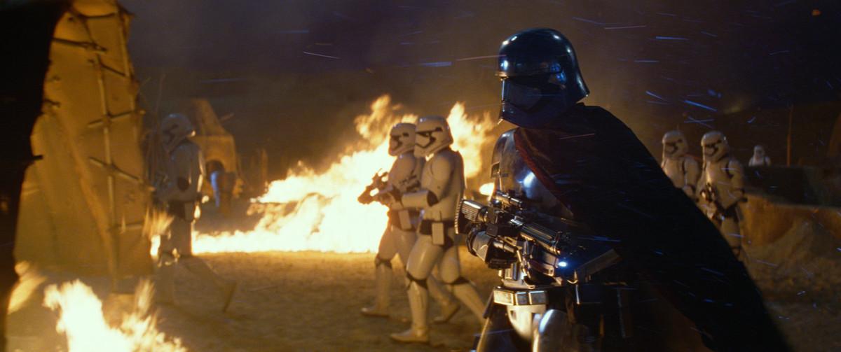 Fotograma de 'Star Wars. El despertar de la fuerza'.