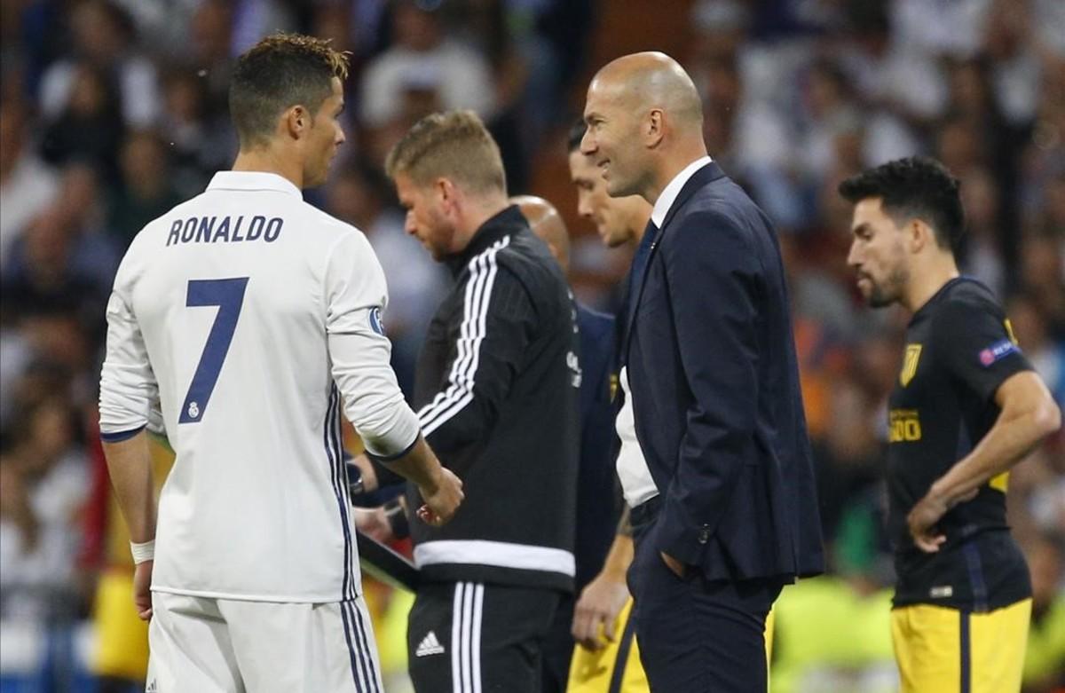 A Cristiano el que és de Zidane