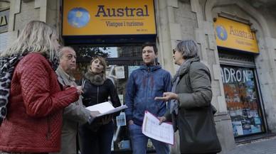 El director d'Austral Viatges, en recerca i captura