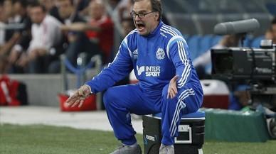 Marcelo Bielsa, en su etapa de entrenador del Marsella.