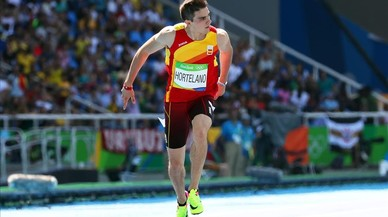Hortelano impressiona i Bolt es passeja