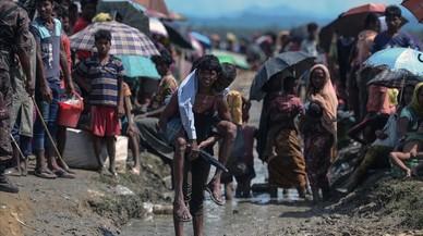 L'ONU xifra en prop de 600.000 els refugiats rohingyes a Bangla Desh