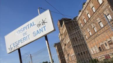 Santa Coloma reciclará el Pavelló B del Hospital Esperit Sant como centro ocupacional