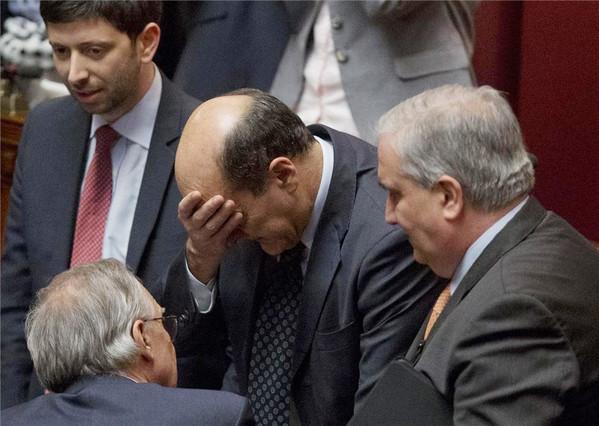 Napolitano, reelegido presidente de la República italiana