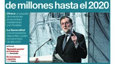 """""""Rajoy negocia amb la societat civil catalana el pla que menysprea la Generalitat"""", titula l''Abc'"""