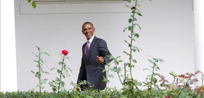 Obama pone toda la carne en el asador por Clinton (y por su legado)