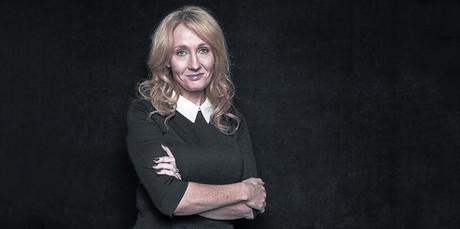 J. K. Rowling, en la presentaci�n de 'Una vacante imprevista'.
