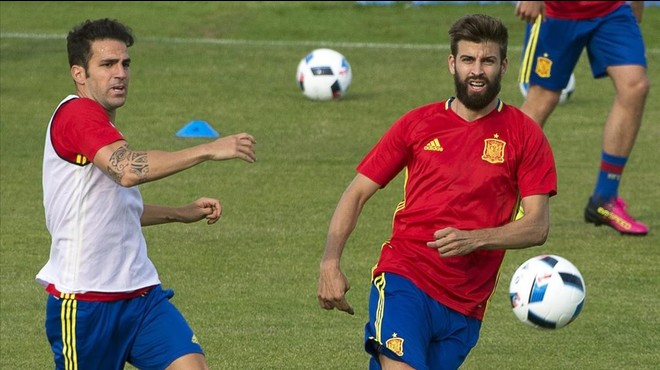 La 'motivació' de Piqué en la cançó de Ramos per a l'Eurocopa