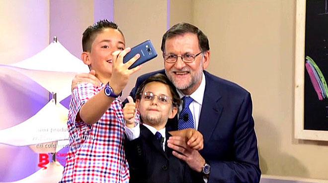 Rajoy, 'selfies' i postures