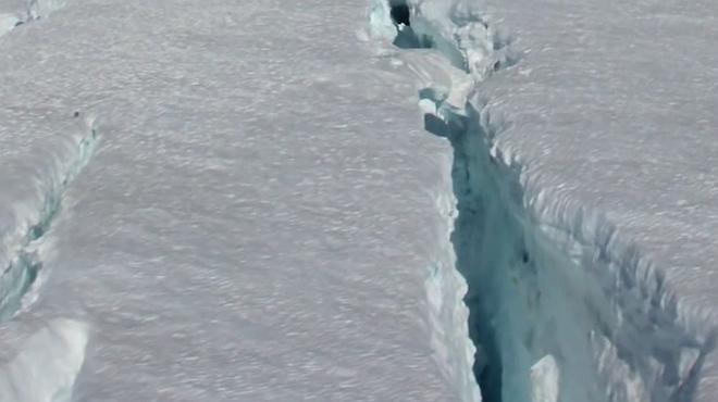 Una 'tempesta perfecta' volcànica va congelar la Terra durant 100.000 anys