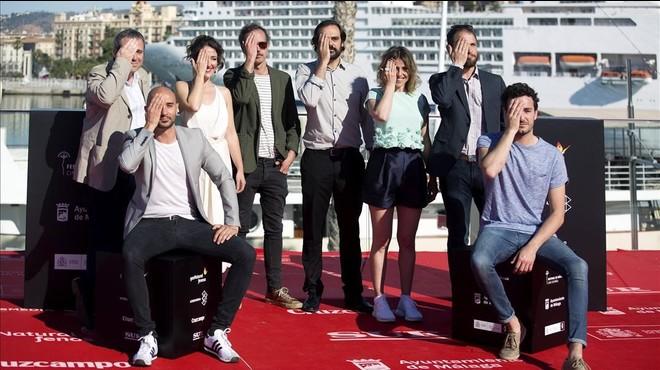 Policies a cop de pilota al festival de Màlaga