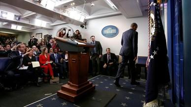 Obama desdramatitza l'arribada de l''era Trump' en el comiat a la Casa Blanca