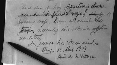 La Fundació Francisco Franco té papers secrets de l'Estat