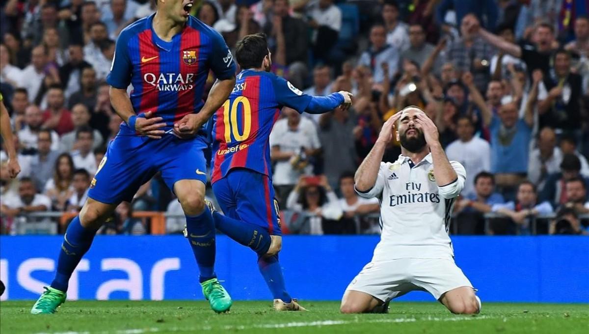Messi i la seva samarreta protagonitzen els millors mems del Bernabéu