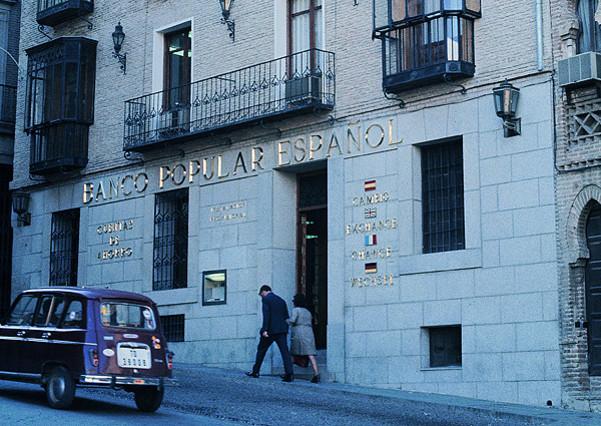 El cajero autom tico cumple 45 a os for Oficinas banco popular barcelona