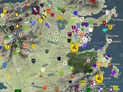 Game Of Thrones Mapa Interactivo De Got Aprueba De Spoilers