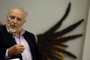 Julio Anguita, durant una entrevista el novembre del 2013.