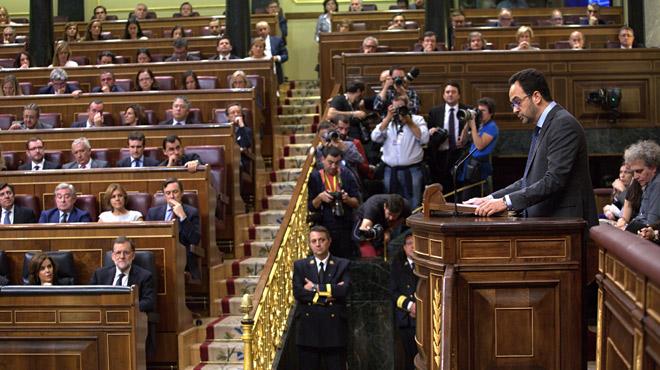 Antonio Hernando: El PSOE assumeix la seva responsabilitat abstenint-se