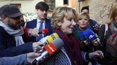 Aguirre va finançar Hazte Oír quan presidia la Comunitat de Madrid